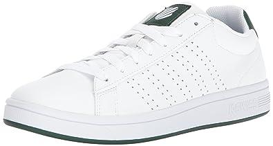 K-Swiss Men's Court Casper S Sneaker, White/Dark Green, ...