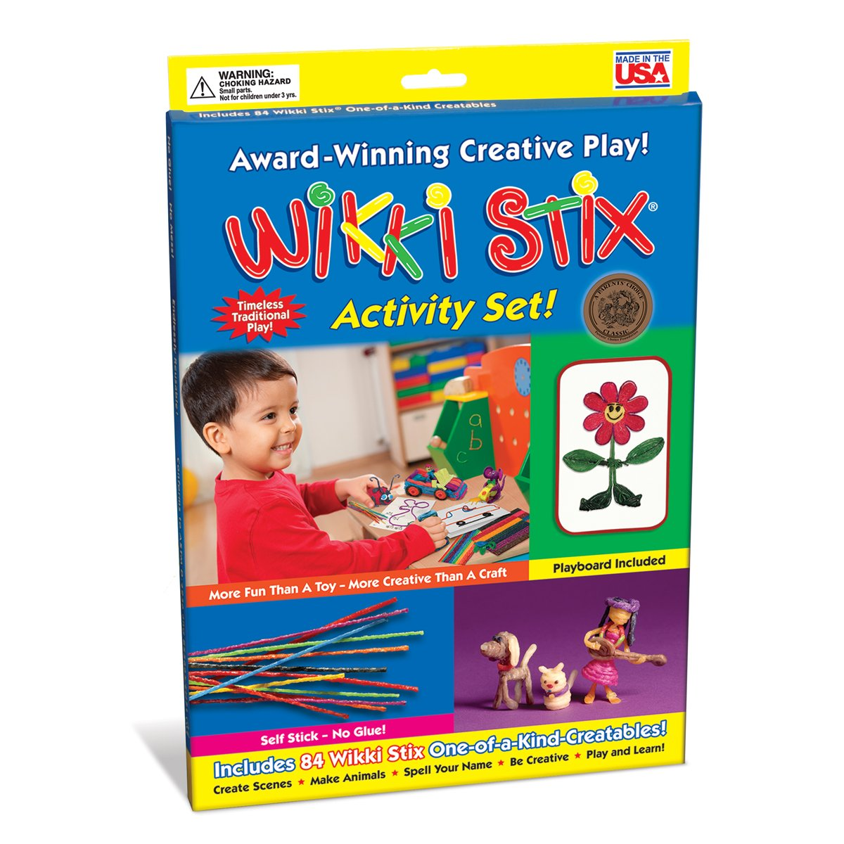 B00000J0H7 WikkiStix Activity Set 71YunXvr-kL