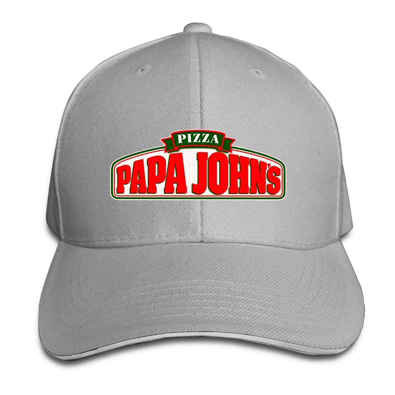 amazon com papa john u0027s pizza snapback hat summer 6310358202198