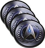 Star Fleet Emblem Reproduced on Neoprene Coaster Set of 4