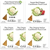 Gluten Free Cauliflower Pizza Crust- Variety Pack Bundle- Vegan and Low Carb Options