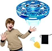 Hands Operated Drone for Kids and Adults, Pickwoo P10 Hands-Free Mini Drone Helicopter, Mini UFO Drone with LED Light, Easy I
