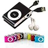 Mini Clip Reproductor MP3 . Incluye Auriculares y USB. Estilo iPod