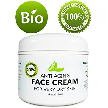 d0b148a4df5a Best Anti Aging Face Cream for Men and Women - Anti Wrinkle Eye Cream -  Daily Moisturizer Cream for Dry...