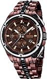 Festina - F16883/1 - Montre Homme - Quartz - Analogique - Chronomètre - Aiguilles lumineuses - Bracelet Acier Inoxydable multicolore