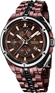 Festina F16883-1 Mens 2015 Limited Edition Chrono Bike Tour De France Brown Watch