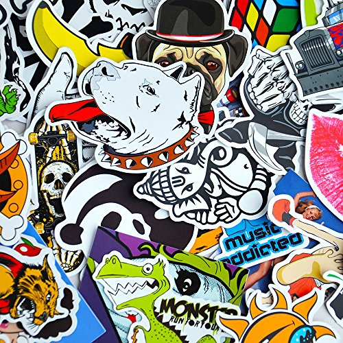 100 Car Styling JDM decal Stickers for Graffiti Car Covers Skateboard Snowboard Motorcycle Bike Laptop Sticker Bomb Accessories (Windows 7 Korean compare prices)