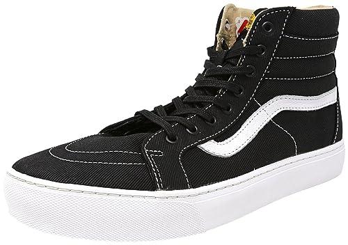 Vans - Zapatillas de Lona para Hombre Negro Negro 42: Amazon.es: Zapatos y complementos
