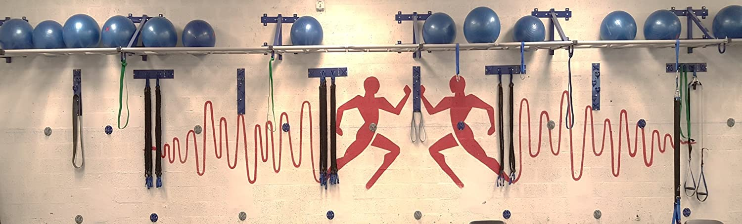 Gym Storage Hooks Gym Wall Mount Corex Core2mount Multiple Mounting Resistance And Bodyweight Strap Wall Mounts Corex Ripfit Sports Outdoors Sports Fitness