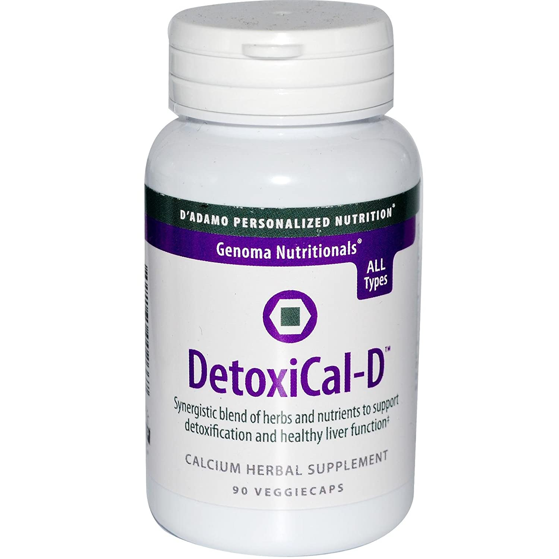 D Adamo Personalized Nutrition Detoxical-D, 90 Count