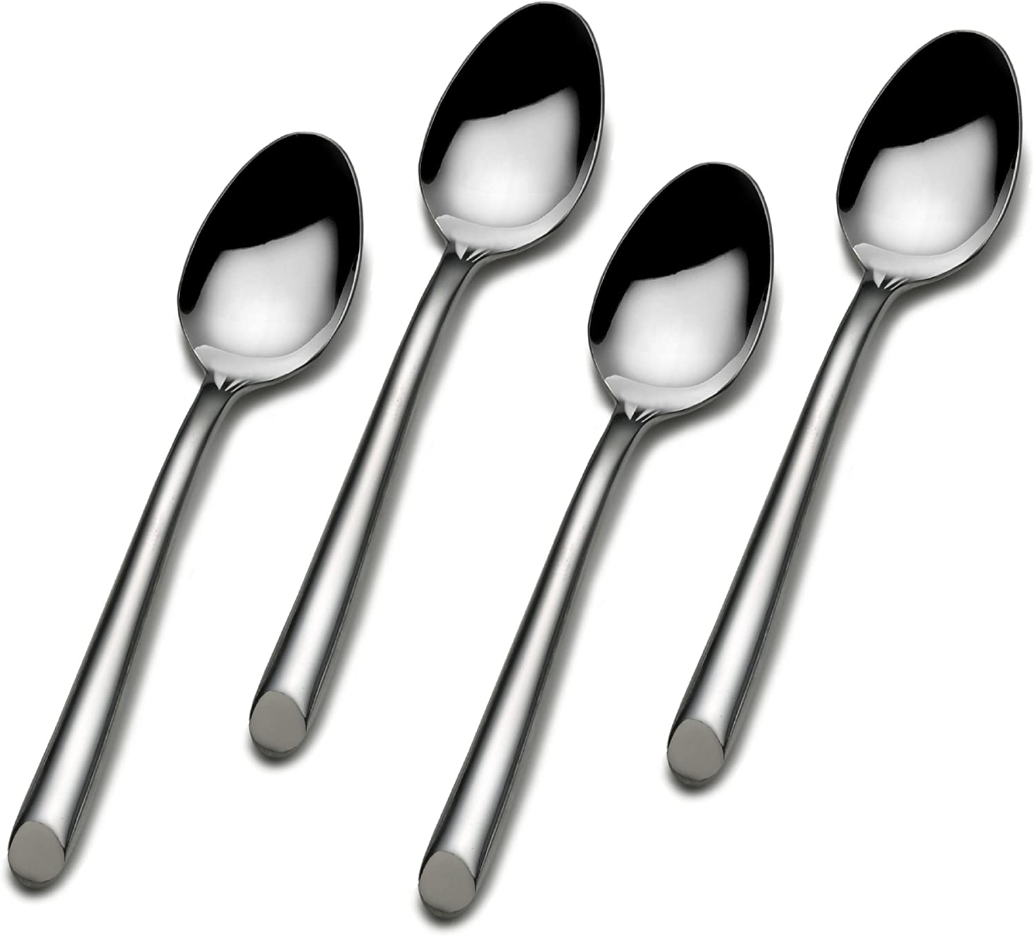 Towle Living Wave Stainless Steel Demi Spoon, Set of 4