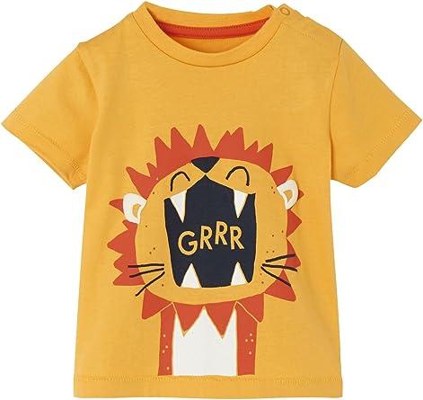 Vertbaudet T-Shirt b/éb/é gar/çon Animaux Sauvages