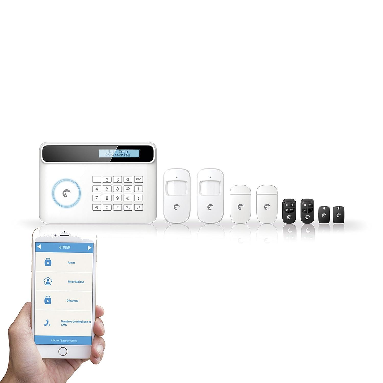 e-TIGER 6601003 Kit Alarme s4-c