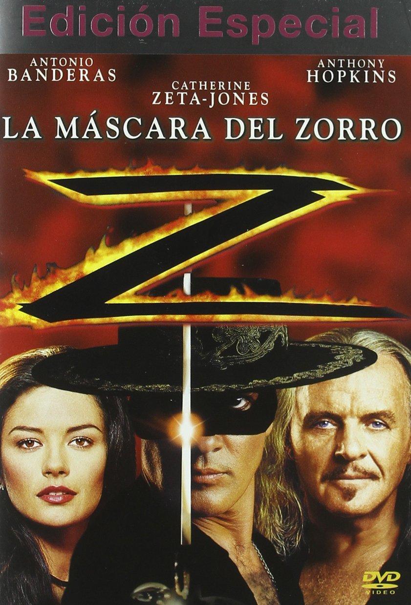 Amazon.com: La Mascara Del Zorro (Ed.Esp.) [Import espagnol]: Movies & TV