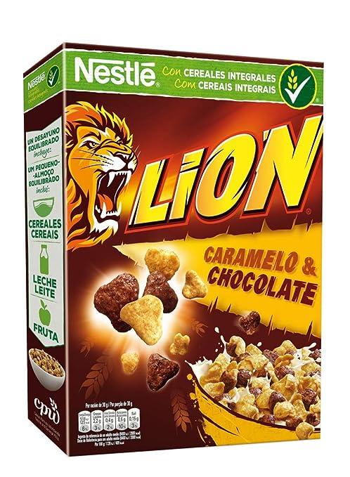 Cereales Nestlé Lion - Cereales de trigo y arroz tostados ...