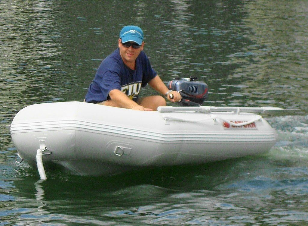 Amazon.com: Saturn 7 ft 6 inches Inflatable Boat Dinghy Raft ...