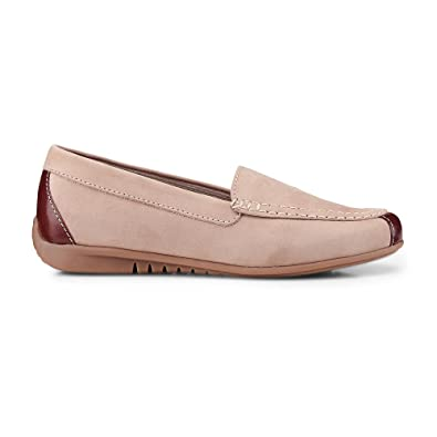 Navy nubuck 'Lois' womens moccasins very cheap price view shop offer sale online amazing price new styles wUEjxyj