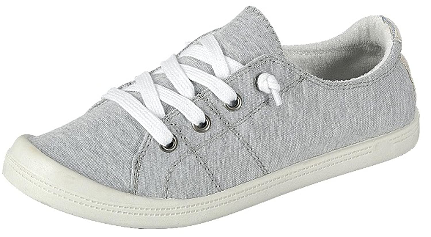Light Grey Forever Link Women's Classic Slip-On Comfort Fashion Sneaker