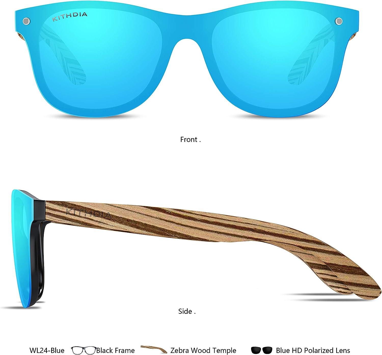 KITHDIA M/änner Frauen Aluminium Polarisierte Herren Sonnenbrillen Spiegel Sonnenbrillen