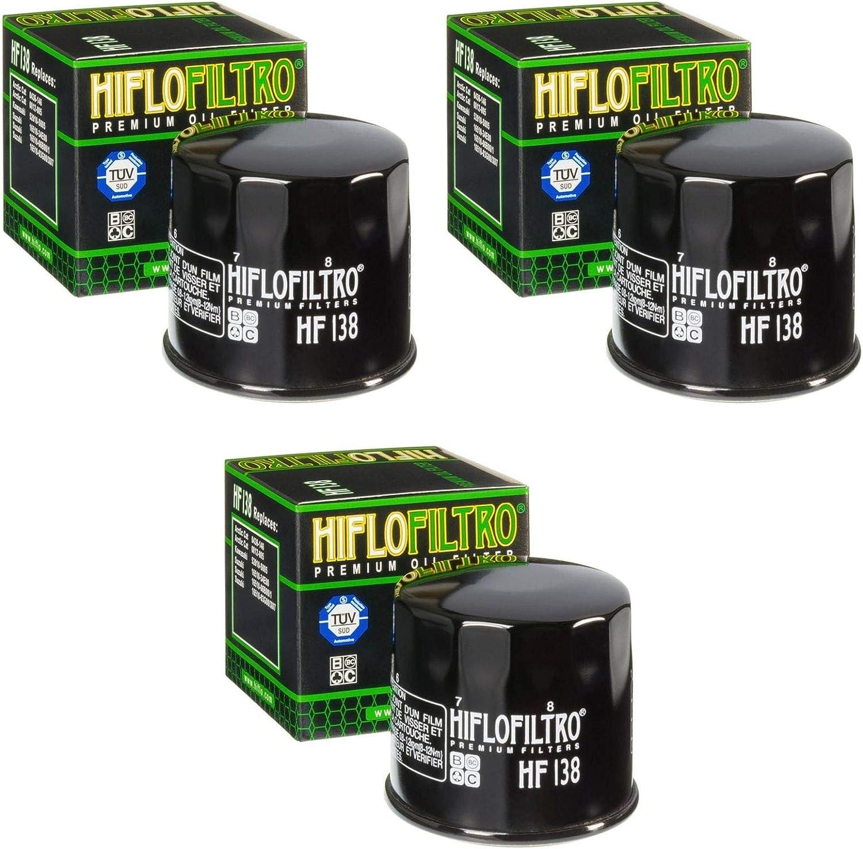 3x Filtre /à lhuile Suzuki TL 1000 S 97-00 Hiflo HF138