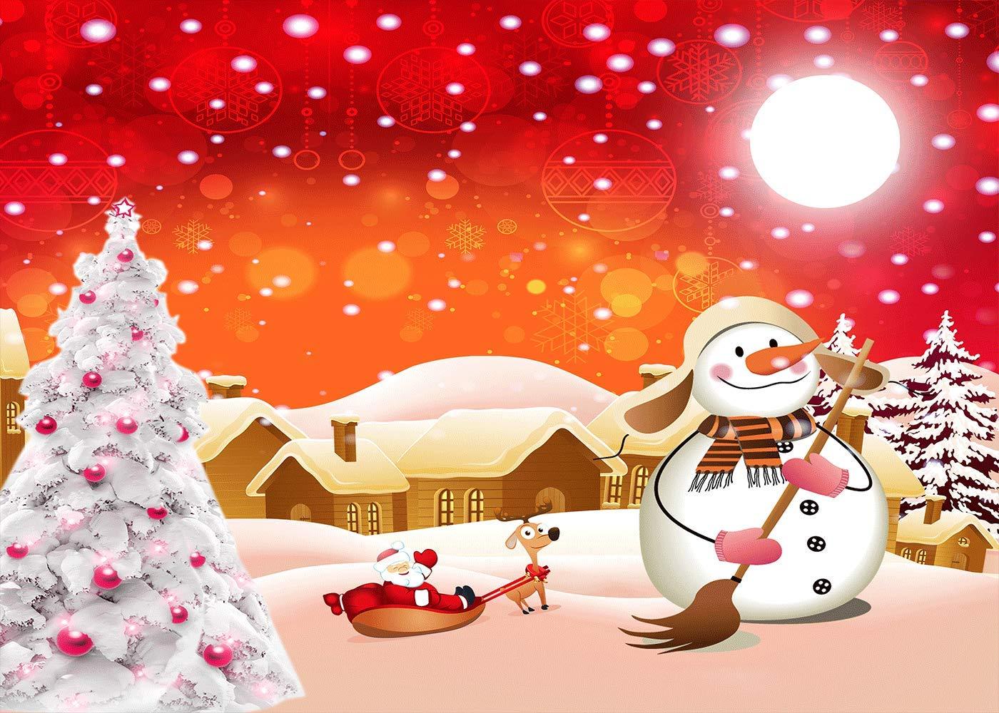 Amazon Com Flasiy 7x5ft Christmas Tree Photography Background