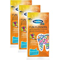 Dentek Kids Fun Flossers ,Pack of 3x  40