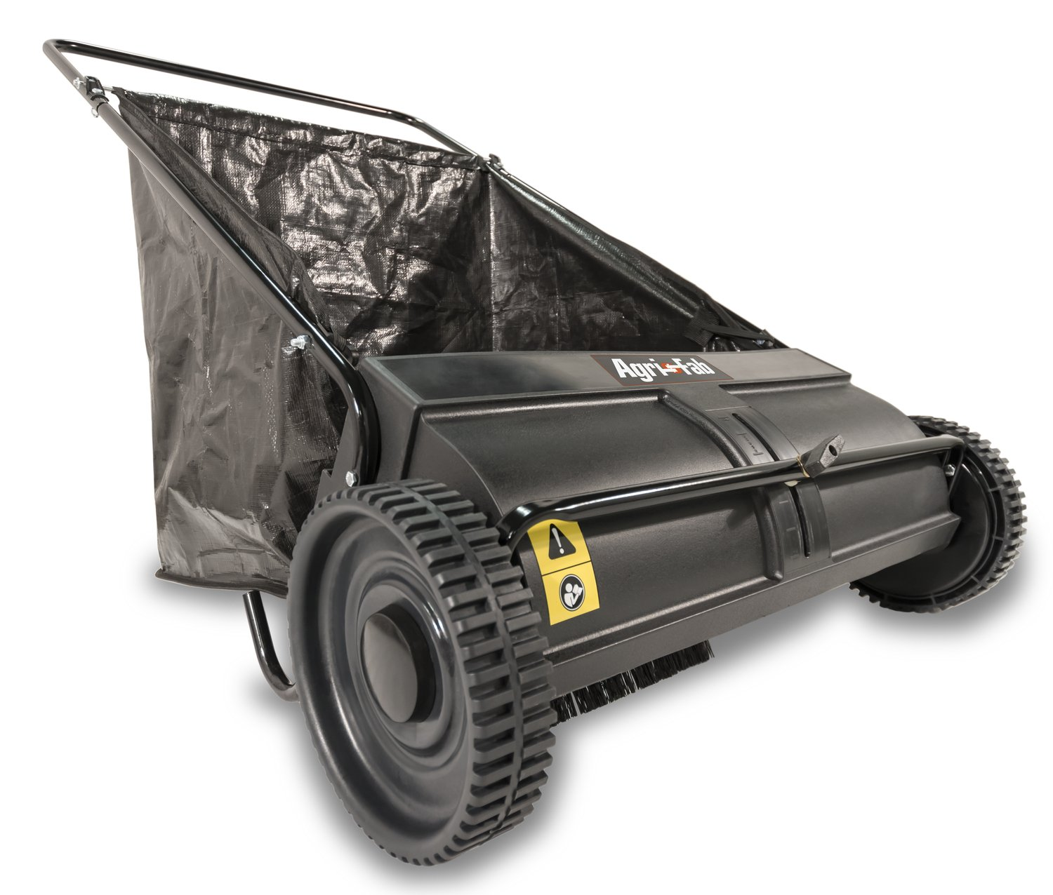 Agri-Fab 45-0218 26-Inch Push Lawn Sweeper, 26 Inches, Black