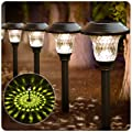 BEAU JARDIN 8 Pack Solar Lights