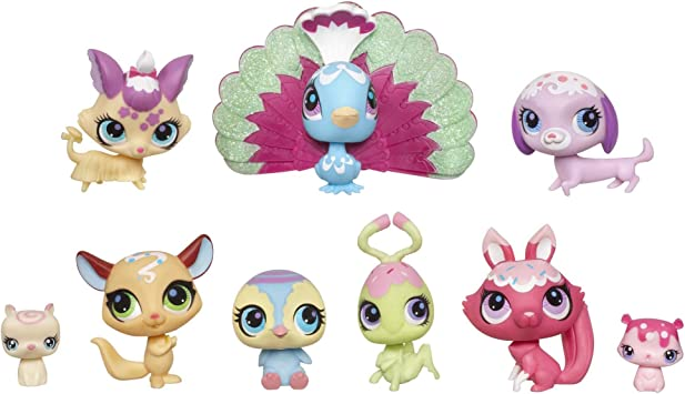 Amazon.es: Sweetest Littlest Pet Shop The Sweetest Collection Pack ...