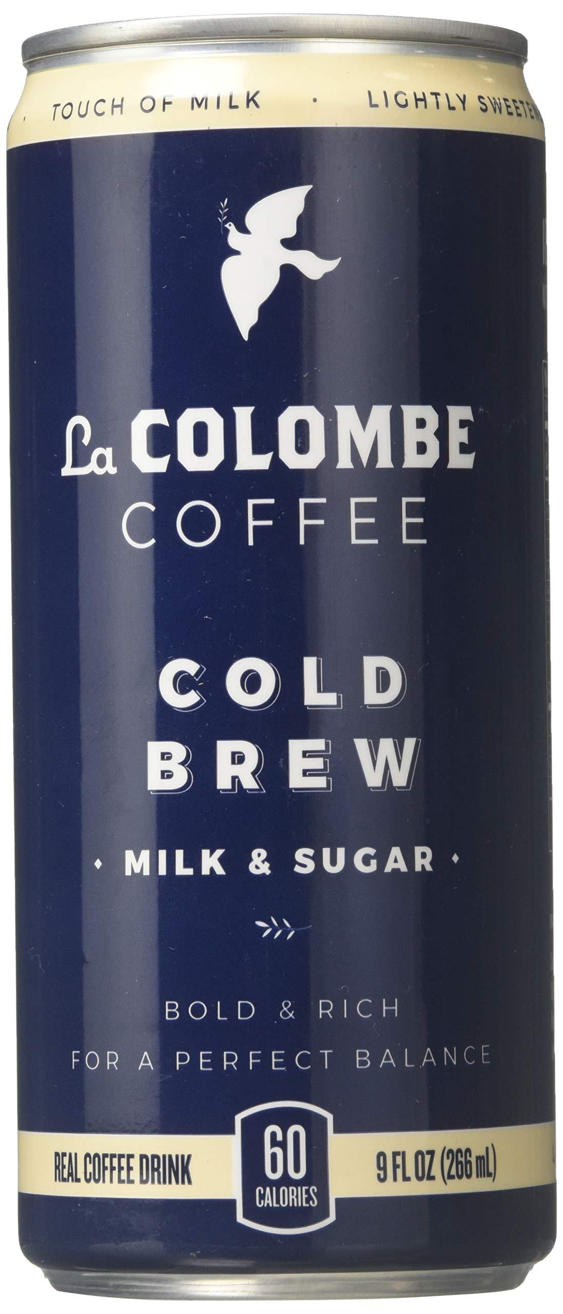 La Colombe - Cold-Pressed Coffee Pure Black & White - 9 fl. oz.