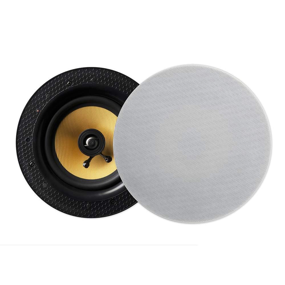 Bluetoothワイヤレスストリーミング6.5インチ天井スピーカー - - オーディオ(ペアスピーカー(マスターおよびスレーブ)) B01IPC8ZQU, アキルノシ:75b45921 --- hegyaljagyongyszeme.hu