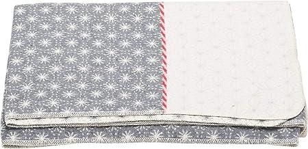 140 x 200 cm David Fussenegger colore: Bianco grezzo Coperta Silvretta Karo