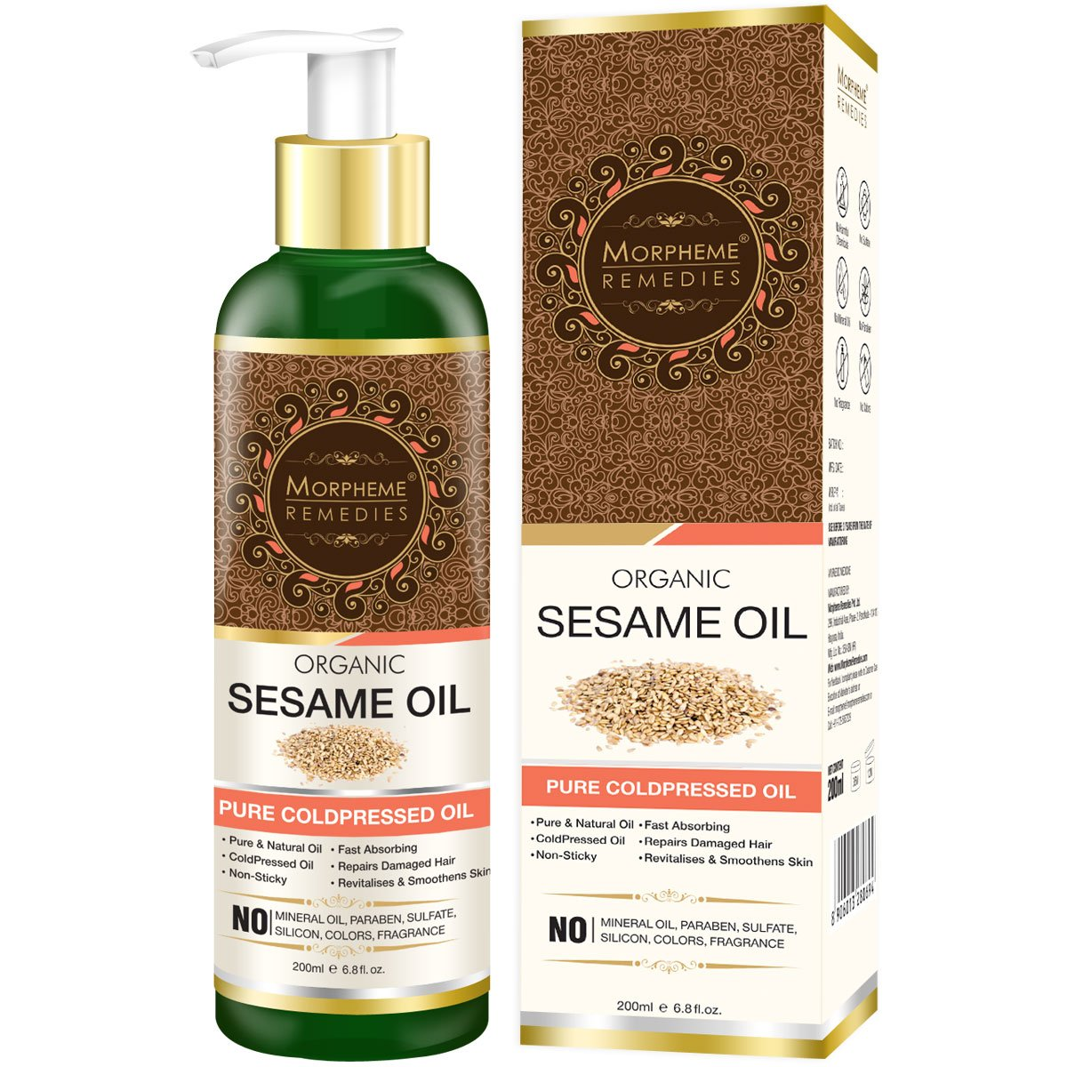 Useful properties of sesame oil for indoor and outdoor use 77