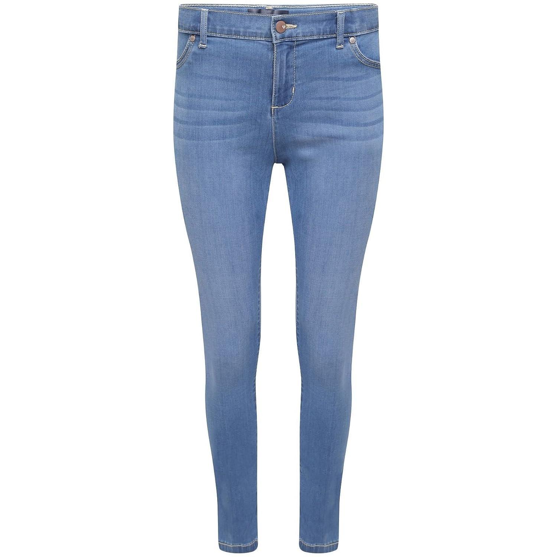 143d47990e3 Ex Highstreet Girls Kids Stretch Plain Slim Skinny Jeans Jegging Trousers  Denim   Grey