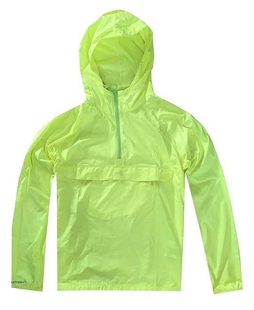 a9c84679d Under Armour Women UA STORM Lightweight Hooded Rain Jacket (L, High vis  Yellow)