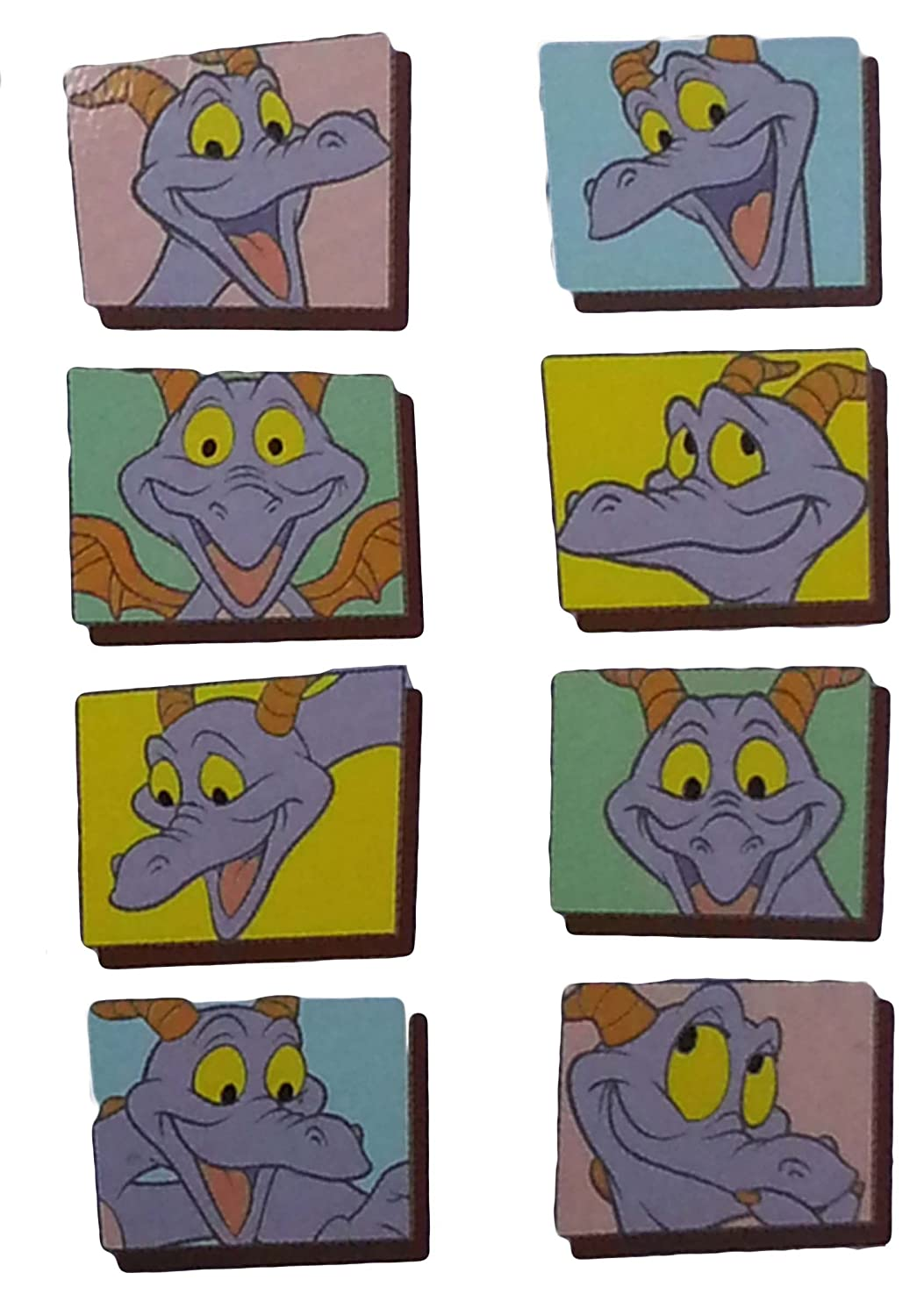 Disney Pin - Figment Close Up Mystery Series - 2 Pin Box