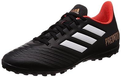Chuteira Futebol Society Adidas Predator 18.4 Cor  PTO BCO LAR - Tam ... 1d2aacd9ddf14