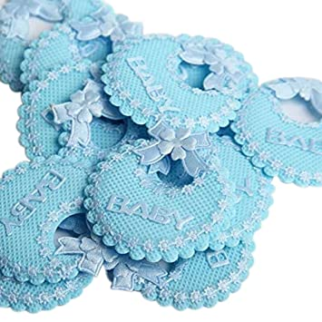 C.X.Y. - Baberos decorativos con lazo, para bomboneras de ...