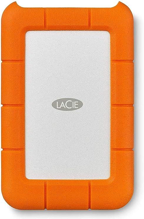 Lacie Rugged Usb C 1 Tb External Hard Drive Portable Hdd Usb 3 0 Drop Shock Dust