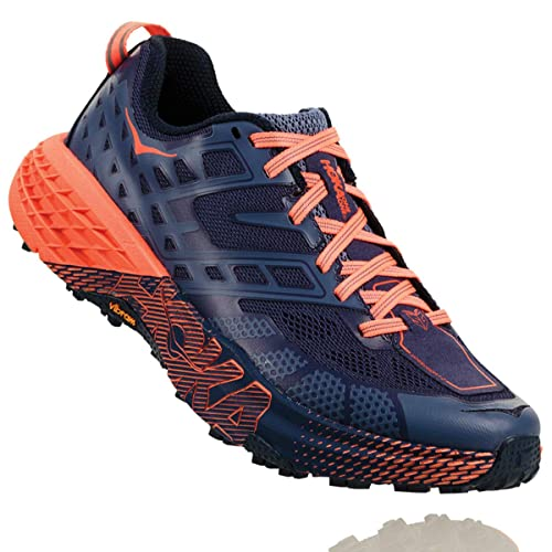 5bcf1c726d43 HOKA ONE ONE Speedgoat 2 Trail Running Shoe - Women s Marlin Blue Ribbon 5