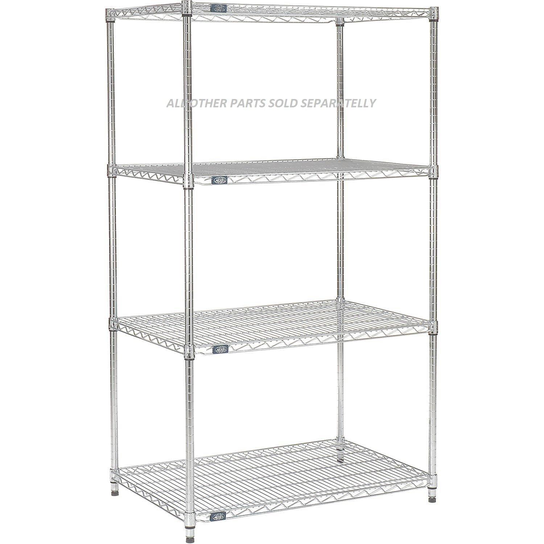 Amazon.com: Nexel Wire Shelf, Chrome Finish, 18\
