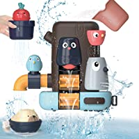 Kaekid Baby Bath Toys,Toddlers Bathtub Toy Games, 16 Months+ Baby Toddlers Animal Shower Toys with Suction Cups…