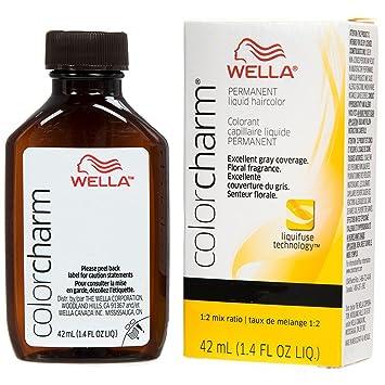 Amazon Com Wella Charm Liquid Haircolor 725 7g Sunlight Blonde