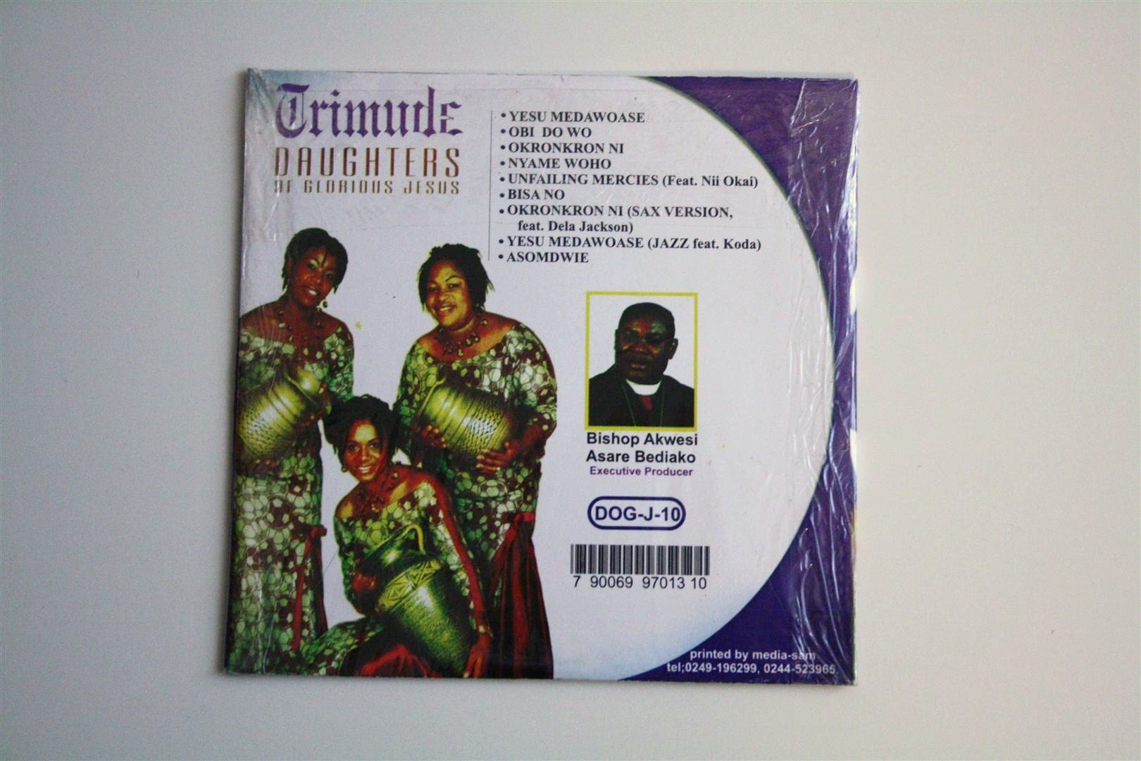 Christian Cd From Ghana / Trimude Daughters of Glorious Jesus / 9 Songs