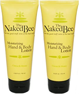 product image for The Naked Bee Moisturizing CITRON & HONEY Hand & Body Lotion 2.25 oz (2 Pack)