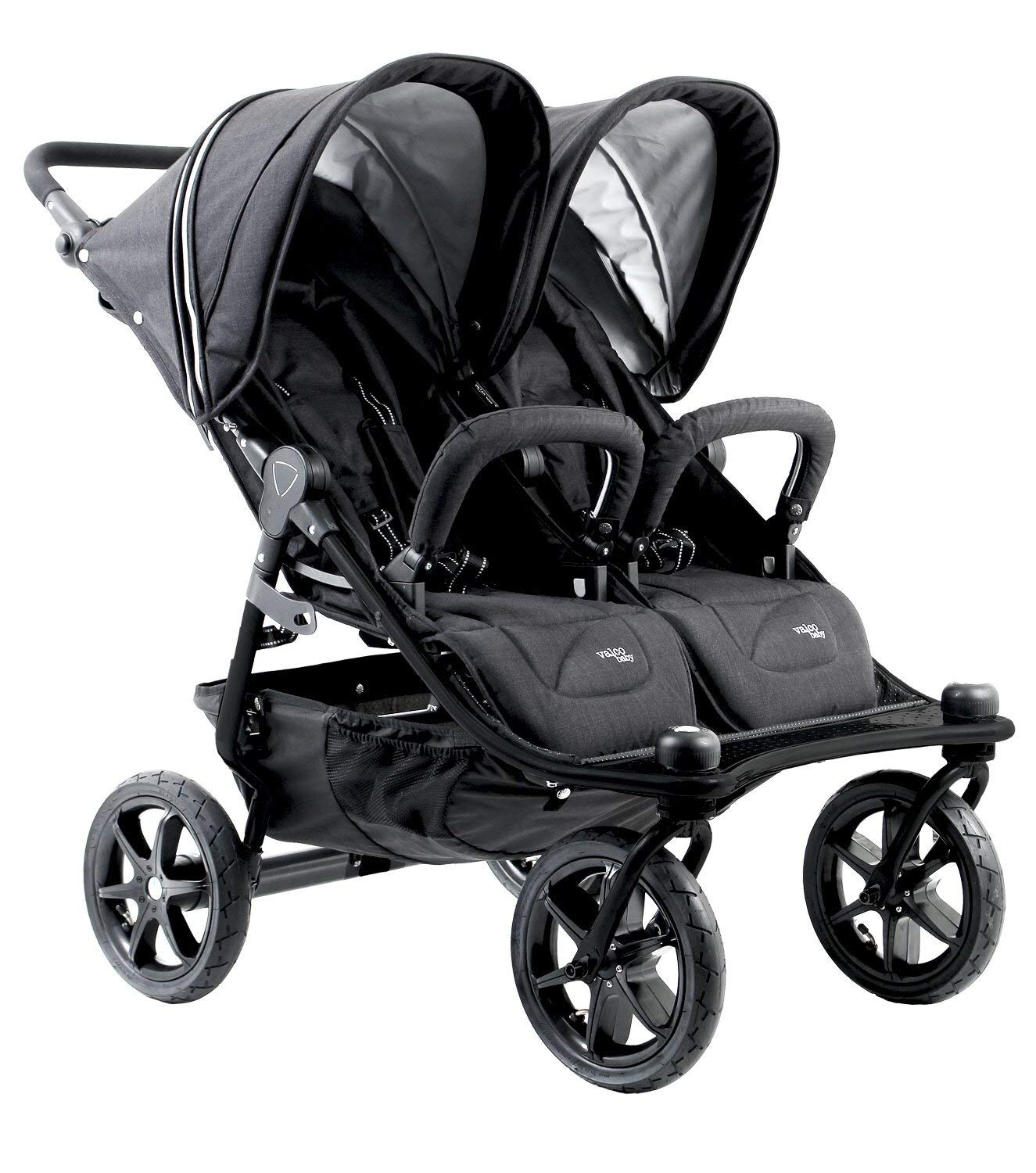 Valco Baby Tri Mode Duo X All Terrain Double Stroller (Black Lightening) by valco baby (Image #1)