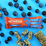 Oatmega Protein Bars, Chocolate Blueberry, Healthy