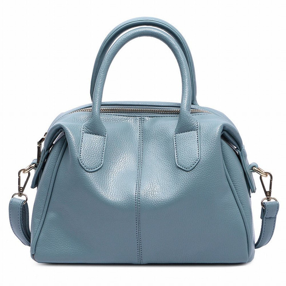 Handtasche Mode Einfache Messenger Bag Schulter Handtasche Handtasche 3065 , blau