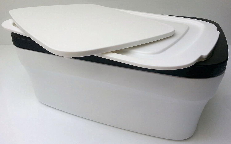 Tupperware Panera BrotMax de Color Blanco y Negro A107