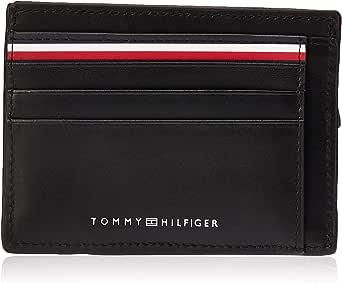 Tommy Hilfiger Zip Card Holder for Men-Black